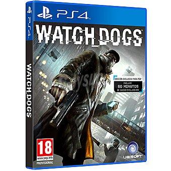 PS4 Videojuegos Watch Dogs  1 Unidad