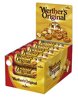 Werther's Caramelos toffee clásicos 50 g