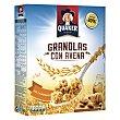 Cereales granolas con avena, miel y almendras 375 g Quaker