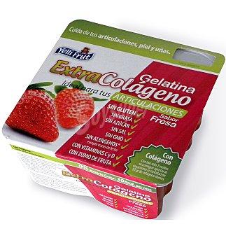 Yelli Frut Gelatina extra colágeno fresa 4 unidades