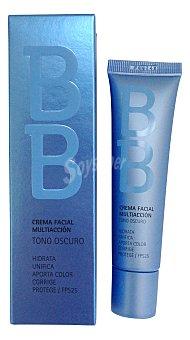 Deliplus Crema facial bb multiaccion tono oscuro Tubo 35 cc