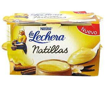 La Lechera Nestlé Natillas vainilla 4X70GR