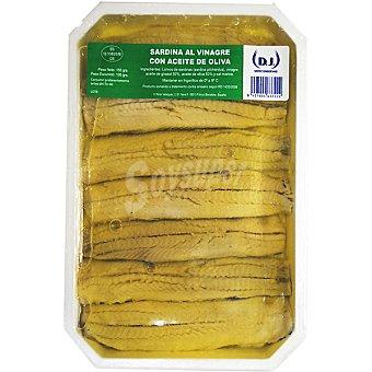 CASERO sardina la vinagre en aceite de oliva tarrina 100 g