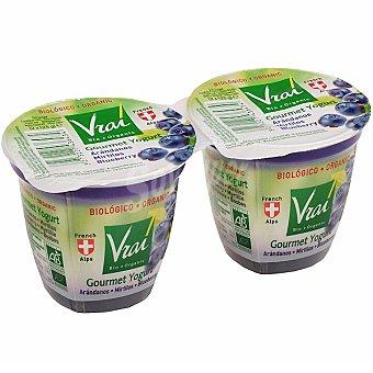Vrai Yogur con arándanos ecológico Pack 2 unidades 125 g
