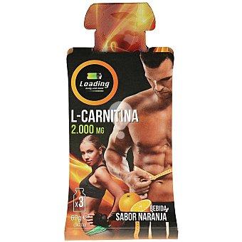 Gel energético para deportistas sabor naranja pouch