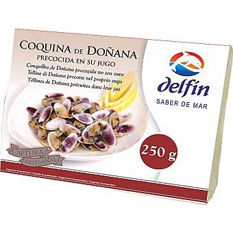 Delfín Coquina de Doñana precocida en su jugo Estuche 250 g