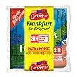 Salchicha Frankfurt originales Pack 4 paquetes x 140 g (560 g) Campofrío