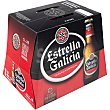 Cerveza rubia especial pack 12 botellas 25 cl Pack 12 botellas 25 cl Estrella Galicia