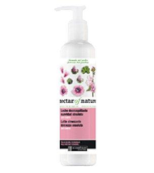 Les Cosmetiques Leche desmaquillante con malva para pieles secas o sensibles 250 ml.