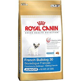 Royal Canin Alimento completo para cachorros de bulldog francés hasta 12 meses Junior Bolsa 4 kg