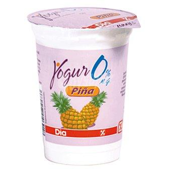 DIA DIA yogur con piña desnatado  envase 200 g