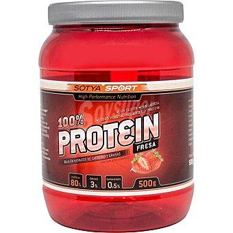 Sotya Suplemento deportivo soluble de proteínas a base de soja Envase 500 g