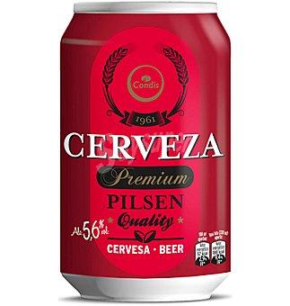 Condis Cerveza pilsen 6 latas de 33 cl