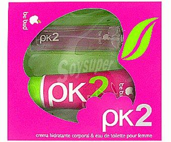 Pk2 Colonia +crema 100ml