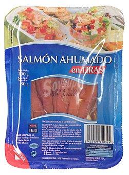 Hacendado Salmon ahumado tiras Paquete 100 g