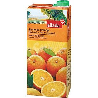 Aliada Zumo de naranja elaborado a base de concentrado Envase 1 l