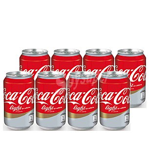 Coca-Cola Light Sin cafeina 33 cl 8 unidades