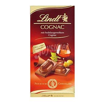 Lindt Chocolate de cognac Tableta 100 g