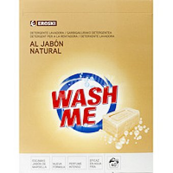 Eroski Detergente en polvo jabón natural Maleta 40 cacitos