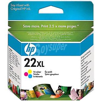 HP Nº 22 XL cartucho tricolor