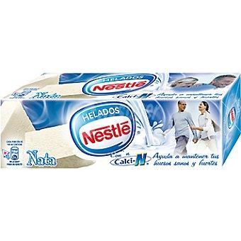 Helados Nestlé Bloque de helado nata Estuche 1 l
