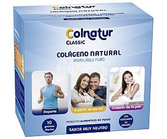 COLNATUR Complemento alimenticio para adulto a base de colágeno para huesos, articulaciones y piel, 21 sobres de 10 Gramos 21 sobres de 10 Gramos