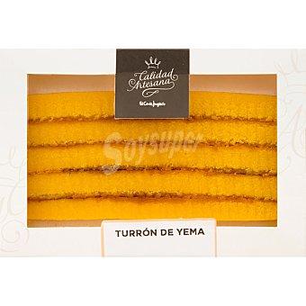 Calidad artesana Turrón de yema Estuche 250 g