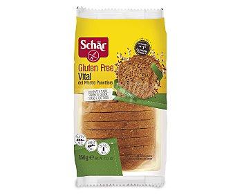 Schär Pan de molde con cereales y sin gluten 350 gramos
