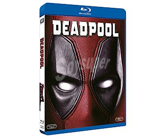 Comedia Deadpool, 2016, película en Bluray, género: comedia, acción, superhéroes. Edad: +18 años
