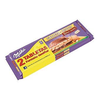 Milka Chocolate con galleta choco-swing tableta 2 x 300 gr