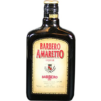 BARBERO AMARETO Licor botella 70 cl 70 cl