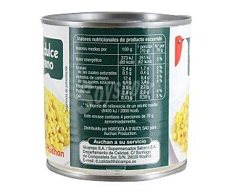Auchan Maíz dulce 6 unidades de 140 gramos
