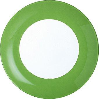 Luminarc Plato hondo 20,5 cm en color verde 1 Unidad