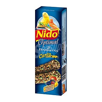 Purina Nido Comida para canarios Canto Complementaria Barritas con Miel 1 Ud