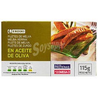 Eroski Melva de Almadraba en aceite de oliva Lata 115 g