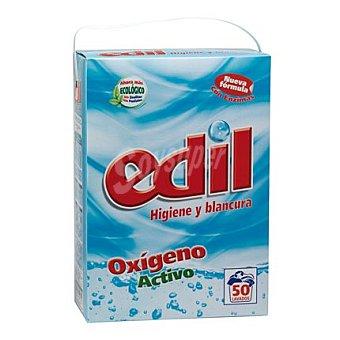 Edil Detergente en polvo oxígeno activo 50 lavados 1 unidad