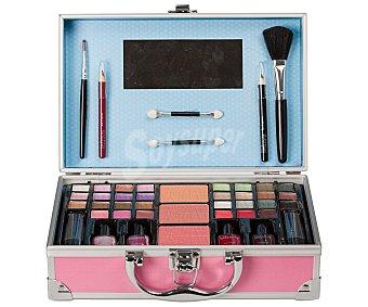 Idc color Estuche cosmético en maletín con espejo edición Pin Up, Magic Studio 1 unidad