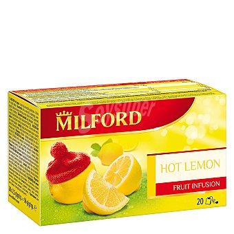 Milford Infusión sabor limón 20 ud