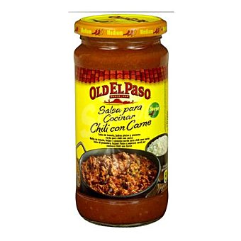 Old El Paso Salsa Mexicana para cocinar chili con carne 400 g
