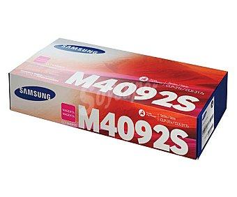 Samsung Toner CLT-M4092, Cian, compatible con impresoras: CLP310/315, CLX3170FN/3175N/3175FN/3175FW
