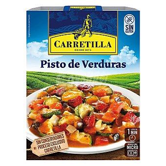 Carretilla Pisto de verduras Bandeja 240 g