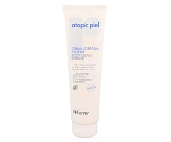 Atopic Piel Crema corporal para tratamientos de brotes de dermatitis atópica 150 ml