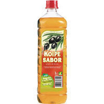 Koipe Aceite de oliva 1º Botella 1 litro + 10%