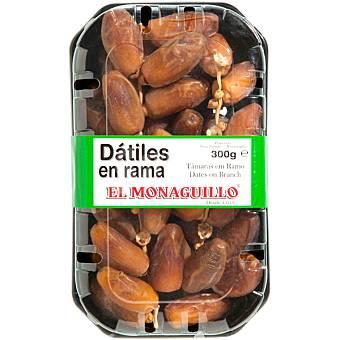 EL MONAGUILLO Dátiles naturales en rama medjoul tarrina 300 g