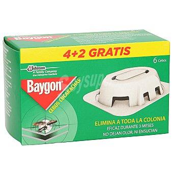 Baygon Cebo para cucarachas caja 6 uds Caja 6 uds