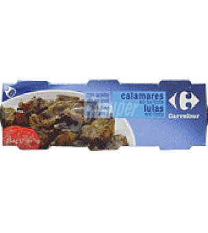 Carrefour Calamares en su tinta con aceite de girasol 153 g