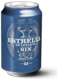 Estrella Levante Cerveza 0,0 Lata de 33 cl