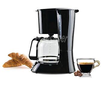 Qilive Cafetera de goteo programable, 10-12 tazas, filtro permanente, antigoteo, apagado automático Q.5289