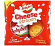 Cheese & Crackers queso mini + crackers crujientes Pack 2 envases x 20 g Babybel