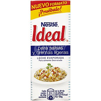 Ideal Leche Evaporada Brick Ideal Nestlé 210 g